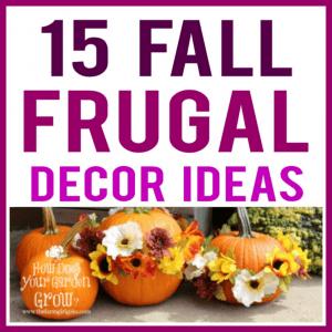 15 Fall Frugal Decor Ideas