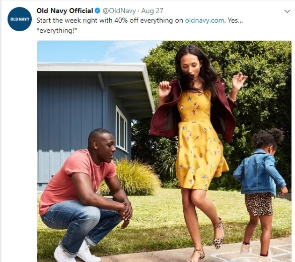 old navy promo code