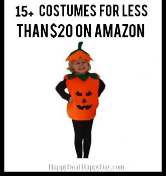List of Cheap Halloween Costumes For All Less Than $20 on Amazon