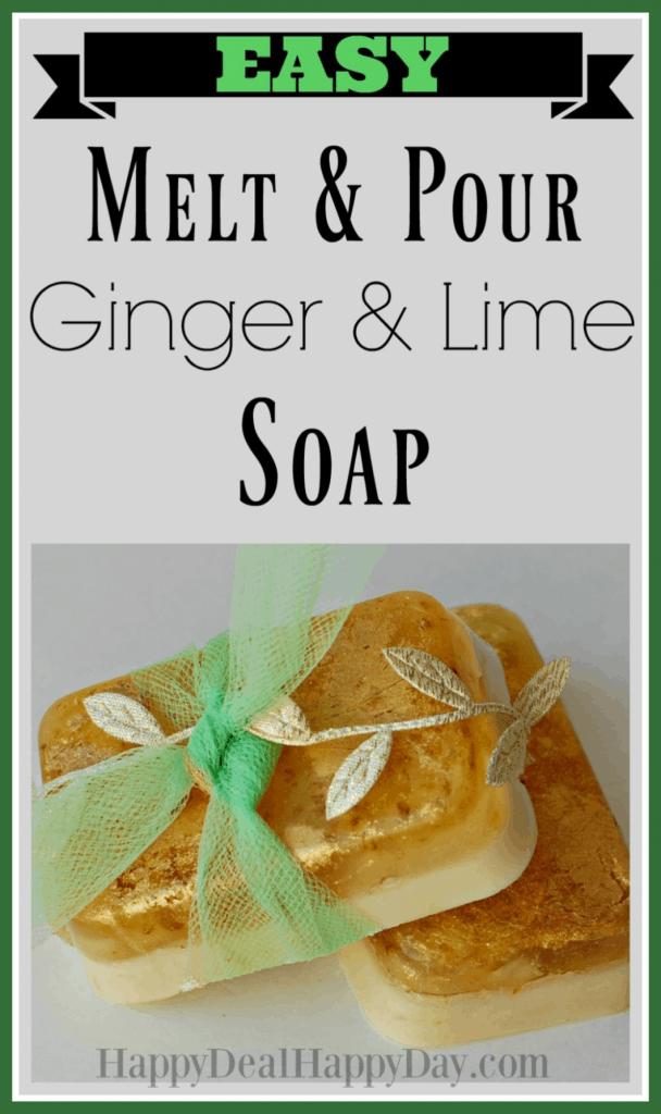Easy Melt & Pour Soap Recipes - includes free printable soap labels