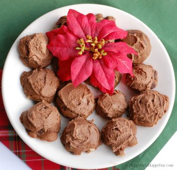 Christmas Cookie Recipe:  Chocolate Italian Meatball Cookie Recipe