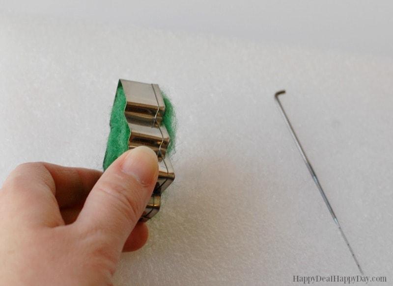 DIY essential oil diffuser ornament