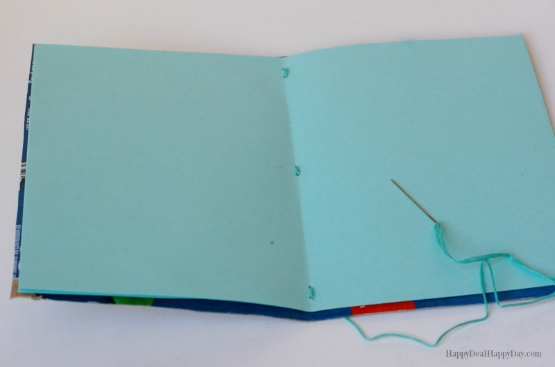 Upcycled Cereal Box Notebook