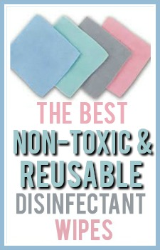 The BEST Non-Toxic Disinfectant Wipes!!