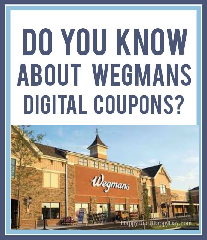 Wegmans digital coupons