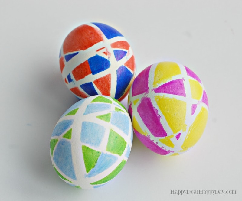 Easter Egg Decorating Idea Using Sharpies great Easter kids craft ideas