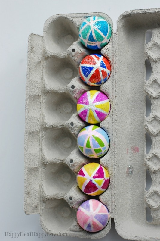 Easter Egg Decorating Idea Using Sharpies