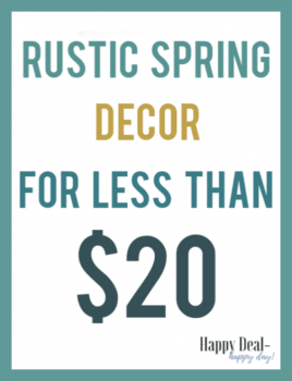 15+ Rustic Spring Decor Items for Less Than $20!