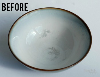 The Best Non-Toxic Cleaner for Scruffed Plates!