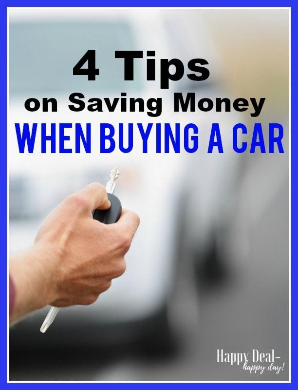 Saving Money When Buying a Car