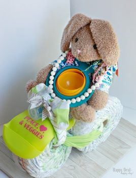 DIY Diaper Tricycle Tutorial for a Baby Shower Gift – The Best Step By Step Guide To Make Your Own!