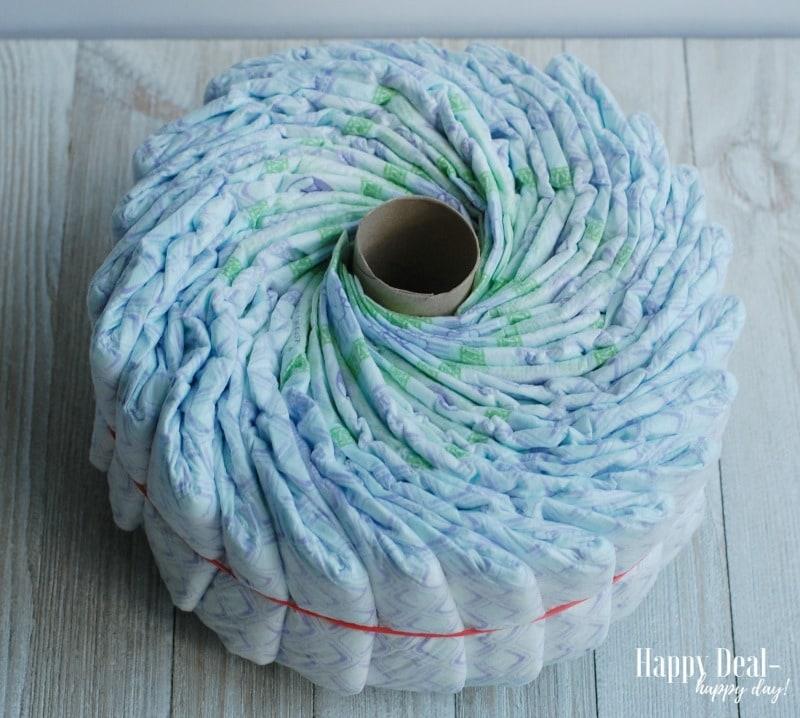 DIY Diaper Tricycle Tutorial diaper wheel