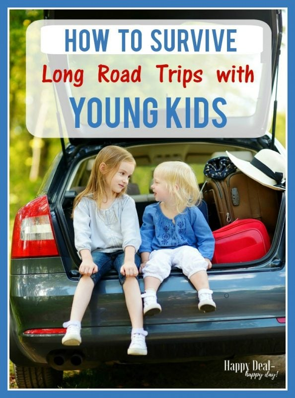 From snack ideas, games, electronic devices and audio books - this is an awesome resource to help you plan that long road trip! #roadtrip #family #familyvacation travel