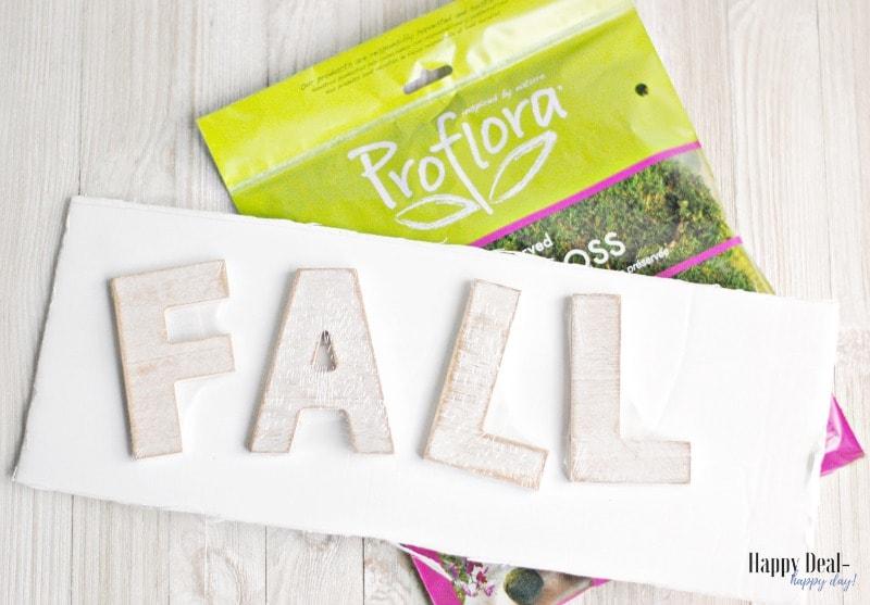 Thrift Store Makeover - CD Holder Repurposed Into Fall Decor