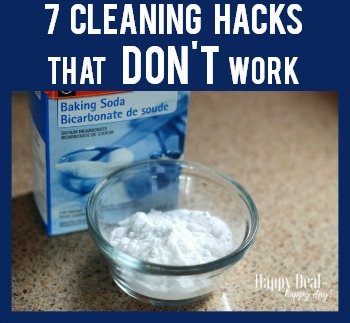 7 House Cleaning Hacks That Don't Actually Work