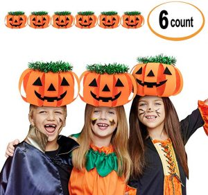 Cheap Halloween Costumes pumpkin hats