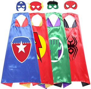 cheap halloween costumes - superhero masks and capes