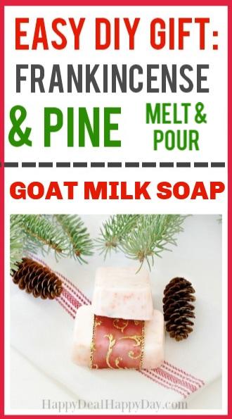homemade soap recipe for christmas