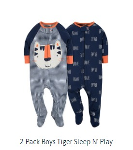 Save up to 40% on Gerber Onesies, Swaddlers, or Playwear!!