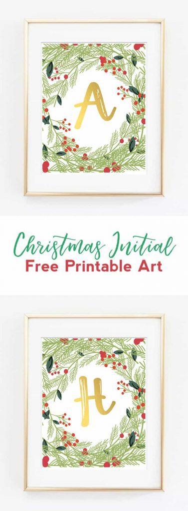 Free Printable Christmas Wall Art