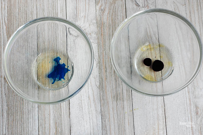 How to Make Confetti That Dissolves In Your Bath - mixing soap, essential oils, and color