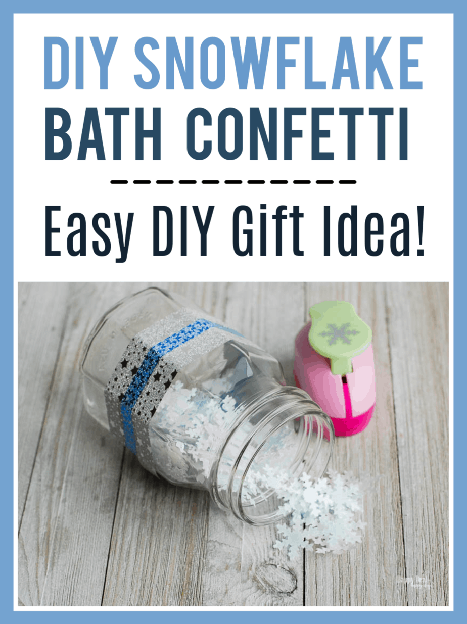 How to Make Confetti That Dissolves In Your Bath