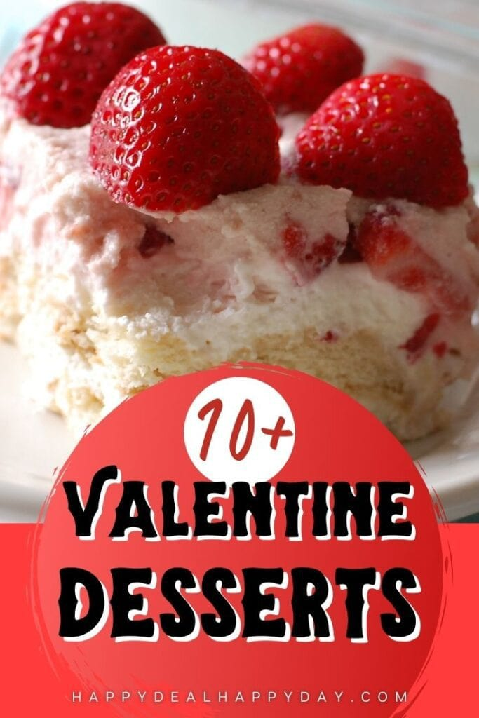 chocolate desserts for Valentine's Day!