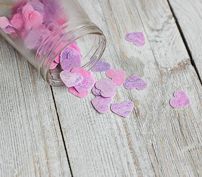 DIY Bath Confetti with Essential Oils