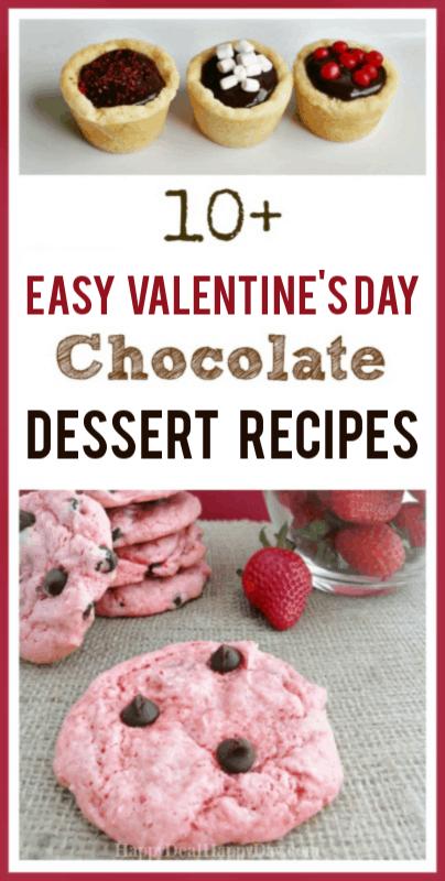 Easy Valentine's Day Chocolate Dessert Recipes