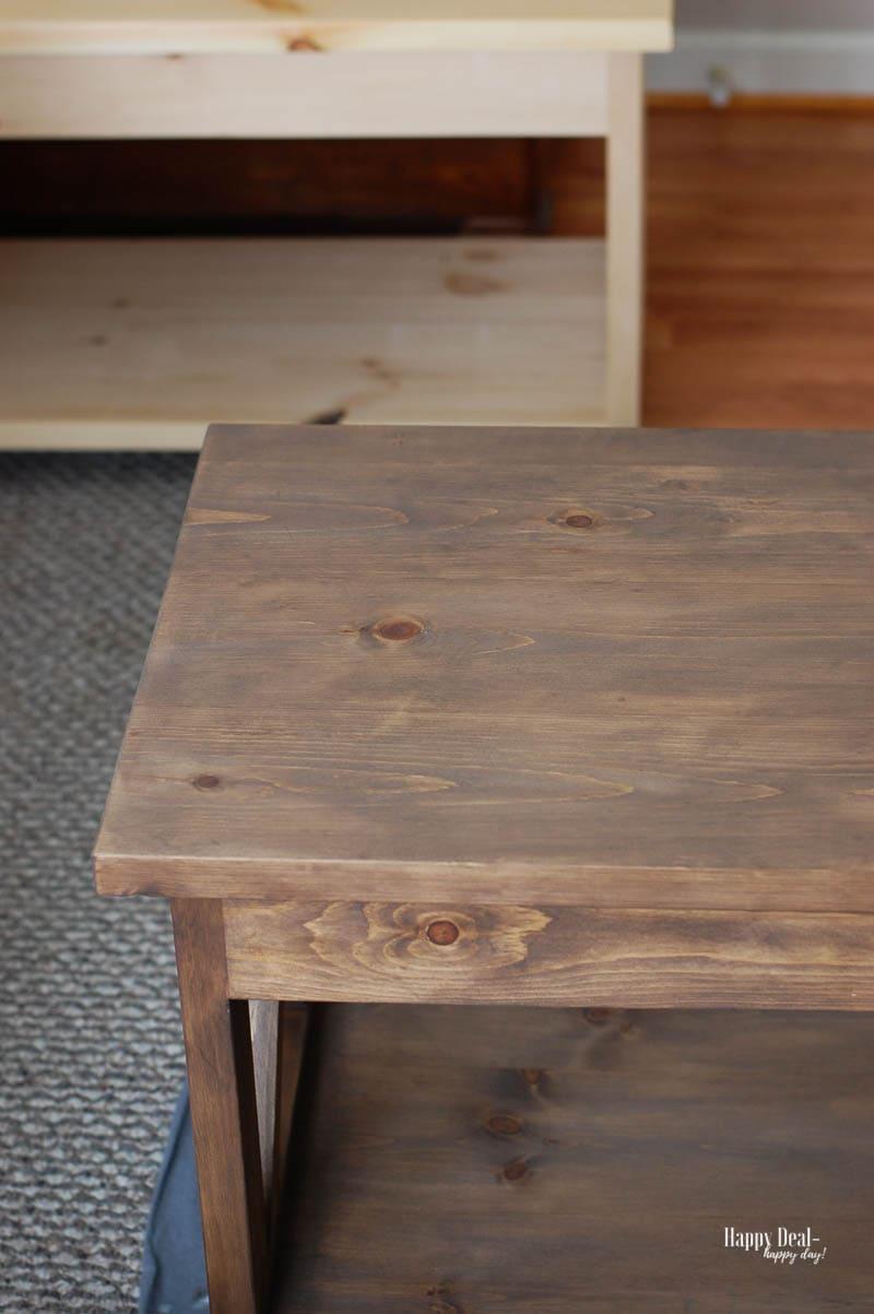 Staining Wood DIY - polyurethane