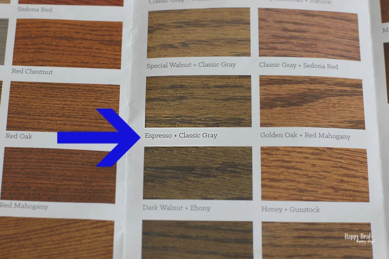 Staining Wood DIY - mixing colors