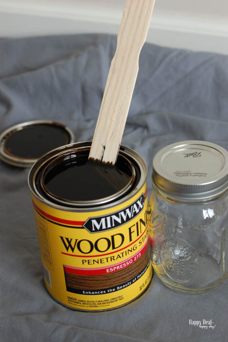 How To Stain Wood: Tips for Beginners - mix stain well before use