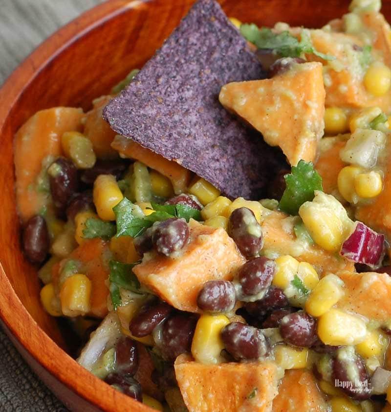 Sweet Potato Black Bean Dip