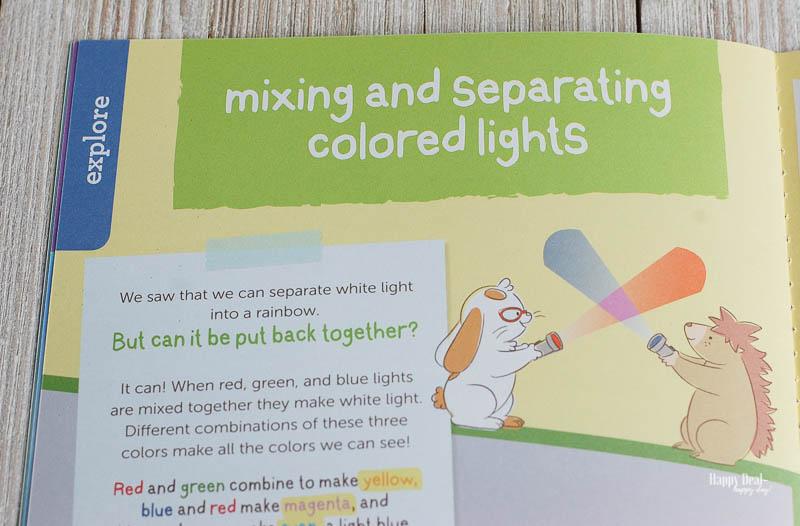 kiwico box mixing and separating colored lights