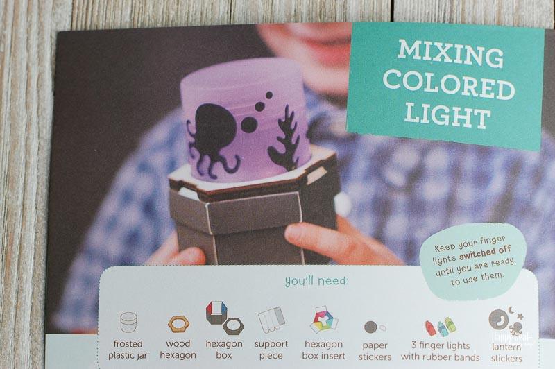 kiwico mixing colored light