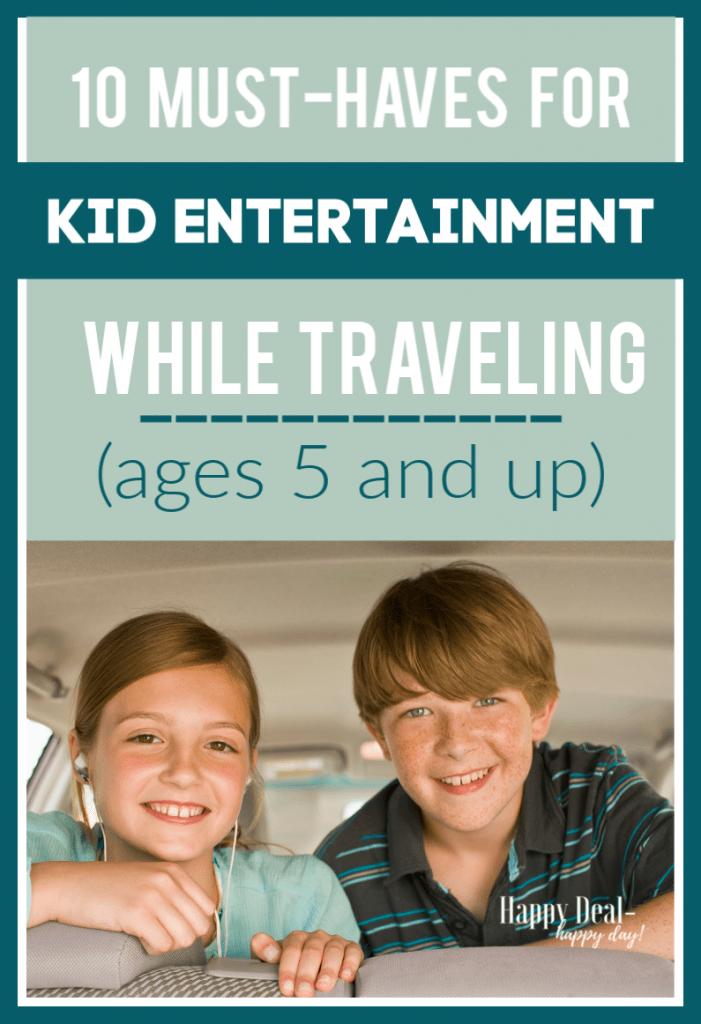 Kid Entertainment While Traveling