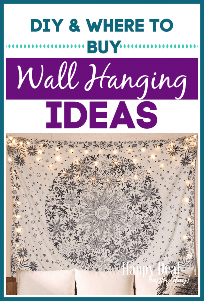 Wall Hanging Ideas: DIY and Where To Buy!