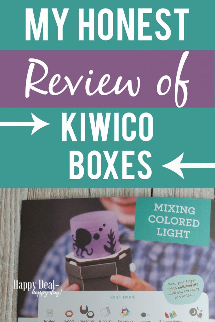 My honest review of KiwiCo Boxes