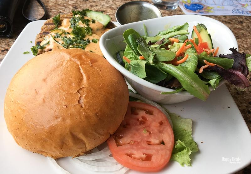 boathouse cantina quinoa burger