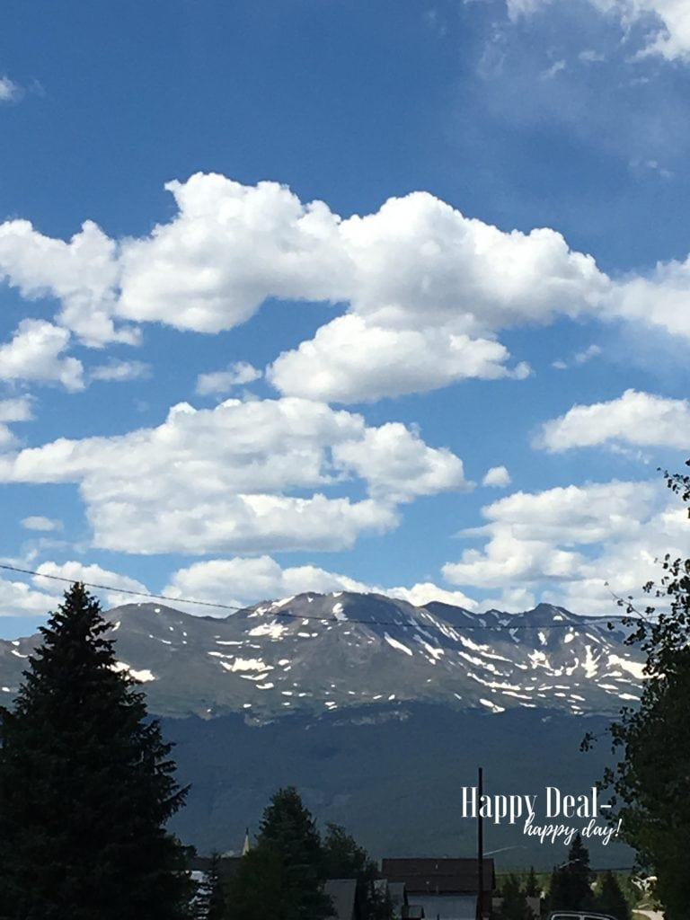 view from leadville Colorado