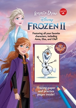 Christmas Gift Guide for Kids - learn to draw Frozen II