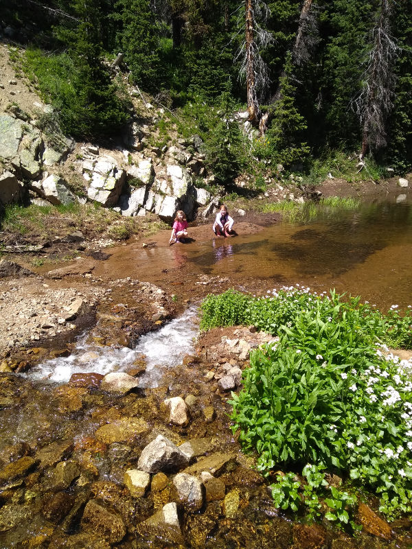 kids looking for gold in colorado
