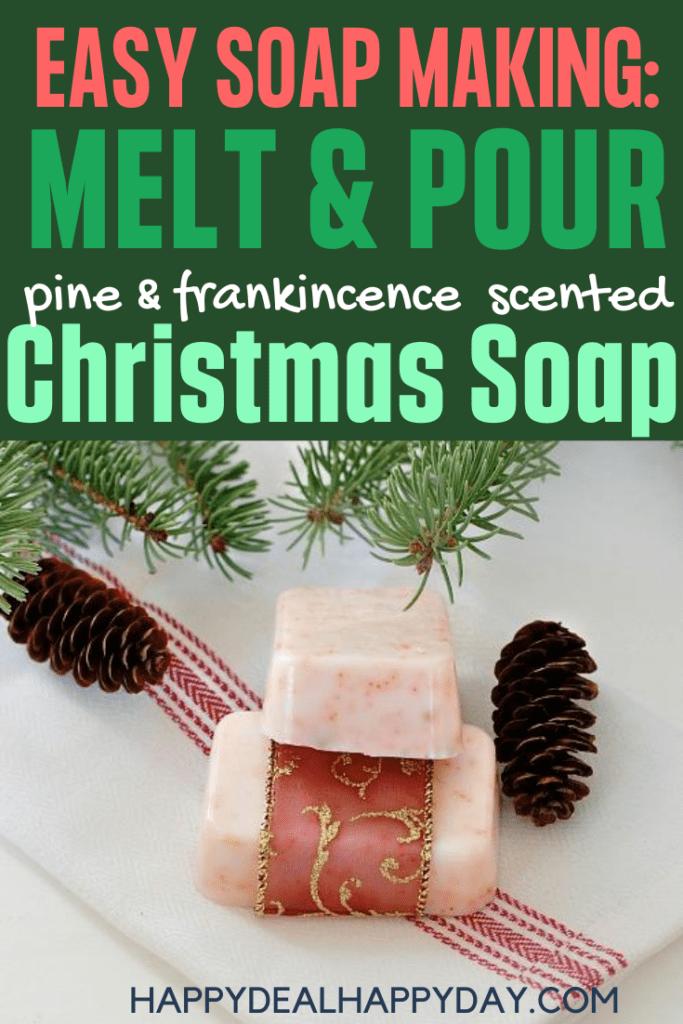 christmas soap recipe