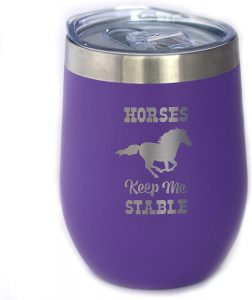 horse tumbler