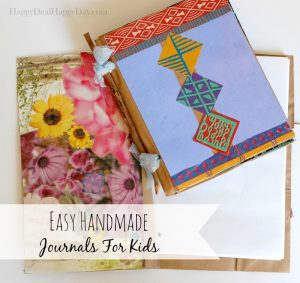handmade journal for kids