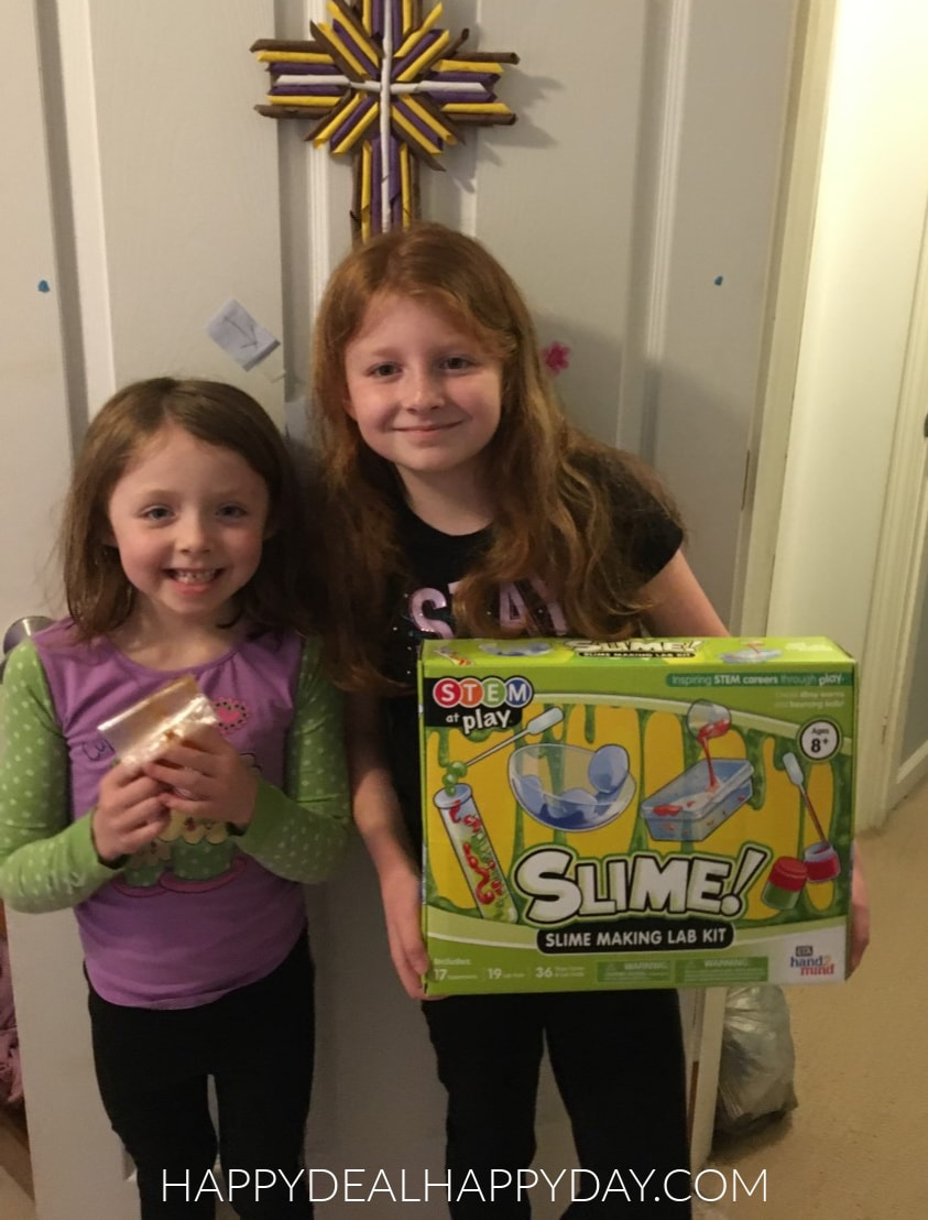 STEM at play slime making lab kit - bouncy ball project