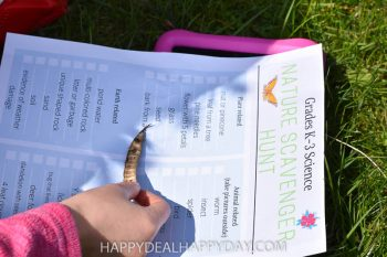 Nature Walk Activity for Kids