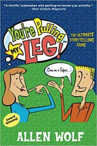 You're Pulling My Leg storytelling game