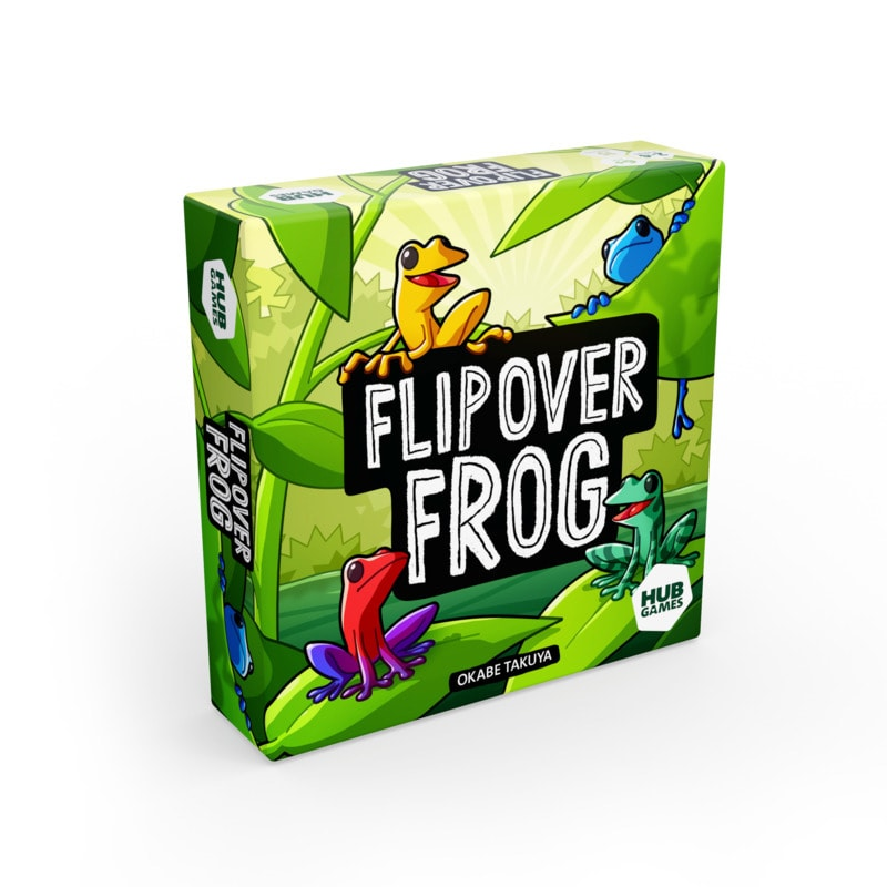 Flipover Frog Game