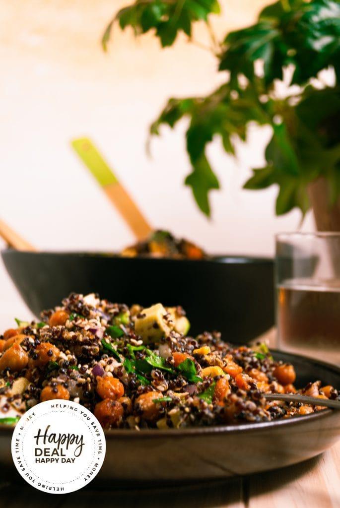 quinoa salad recipe ready to eat